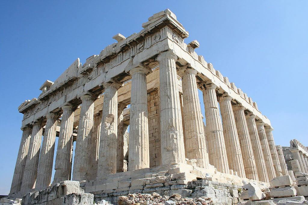 Ancient monument in Athens