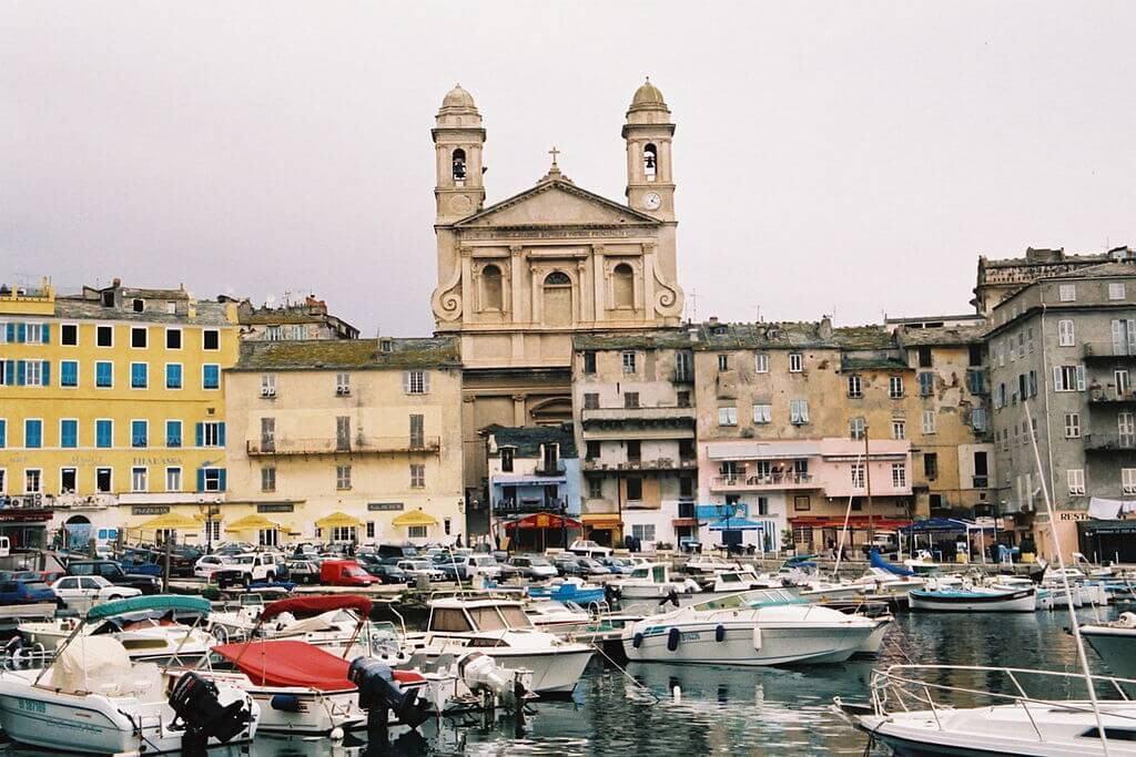 Boats in Bastia port