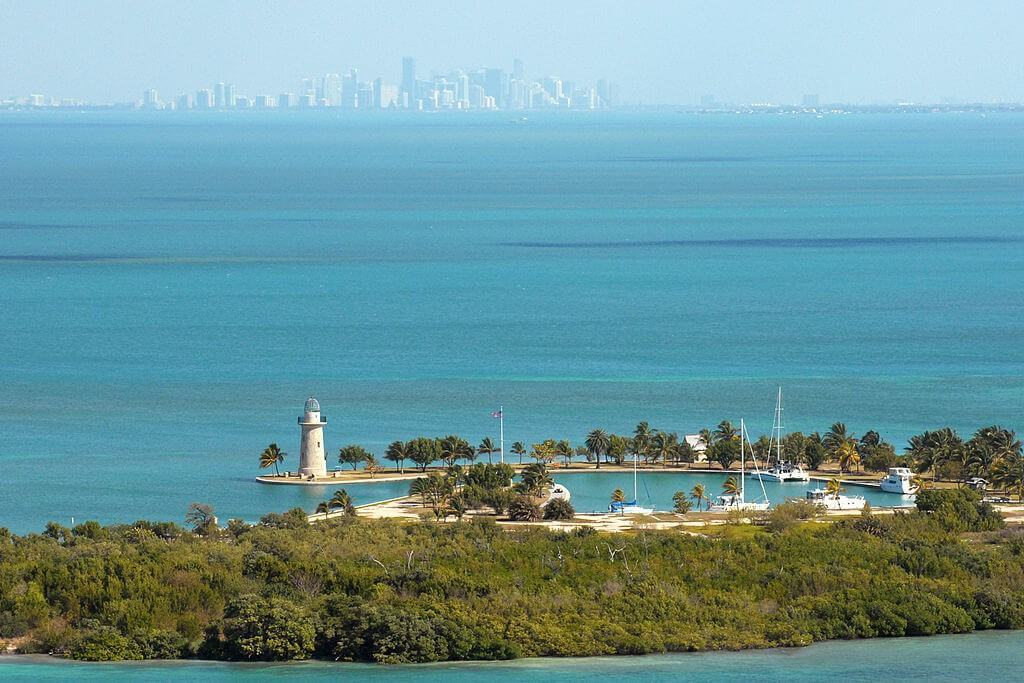 View on BISCAYNE BAY