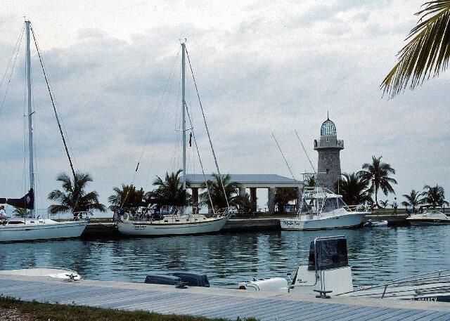 Port in Biscayne Bay