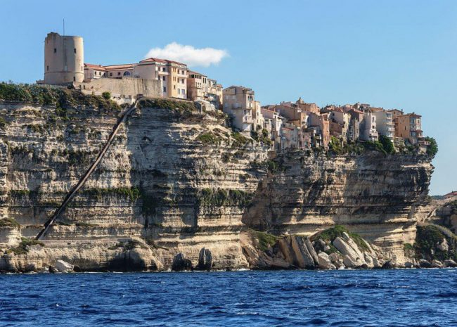 View on Corsica island