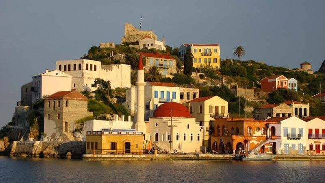 View on Houses in the DODECANESE