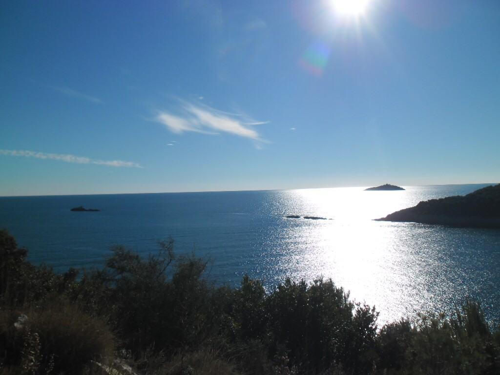 View on ELAPHITI ISLAND