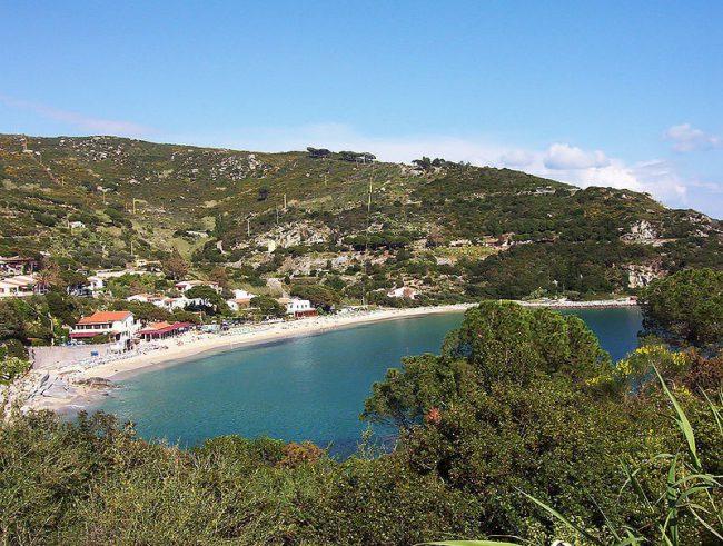 View on ELBA coast