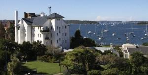 View on Elizabeth islands