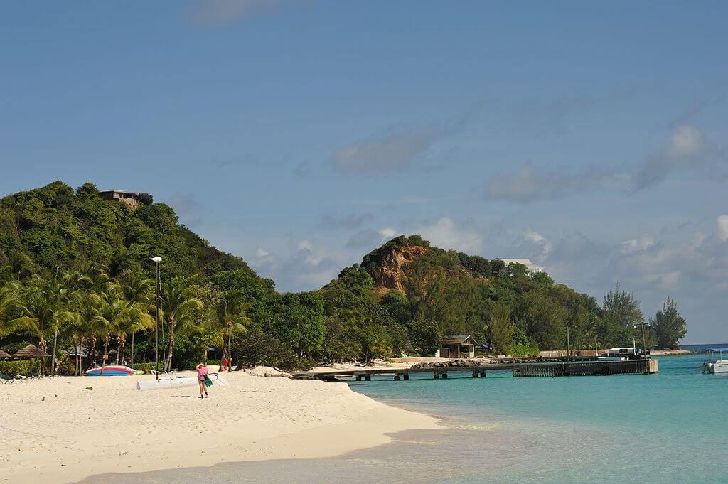 Beach in Grenadines