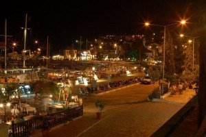 View on marina in Kas