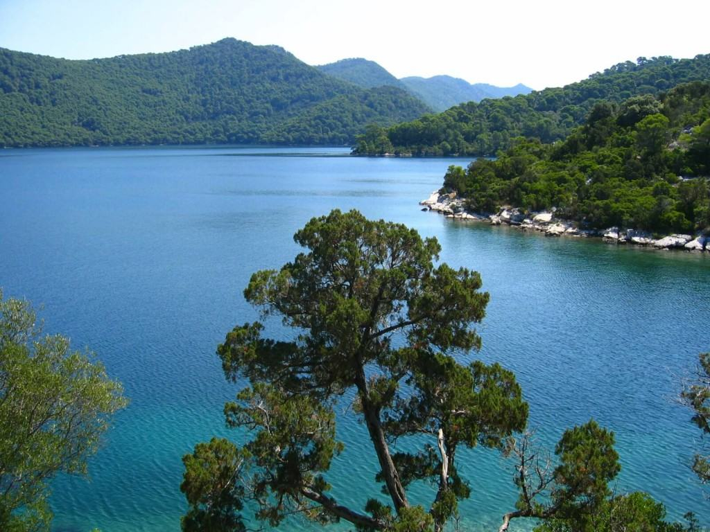 View on Mljet sea