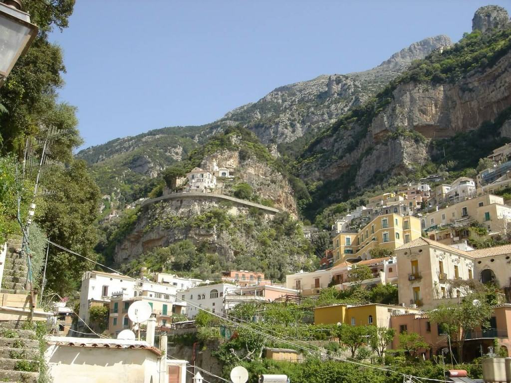 View on POSITANO coast