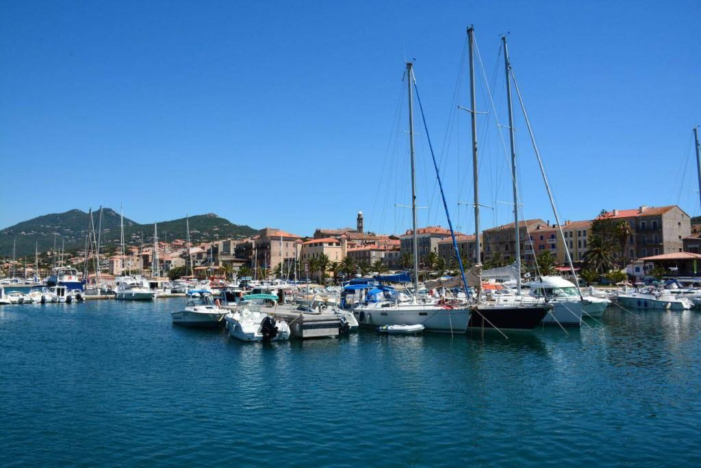 View on the port of Propriano