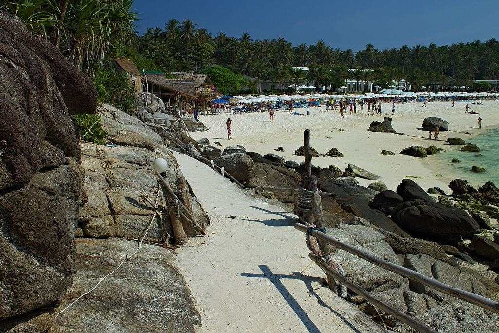 Beach on RACHA ISLANDS