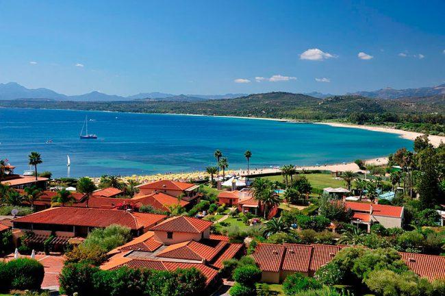 View on Sardinia