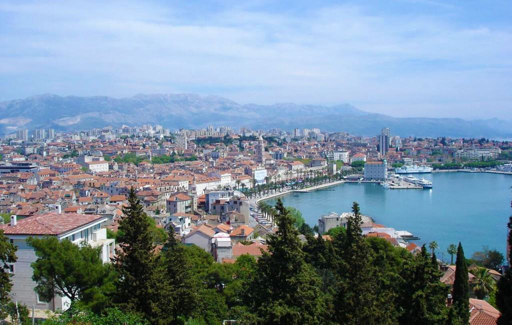 View on Split island