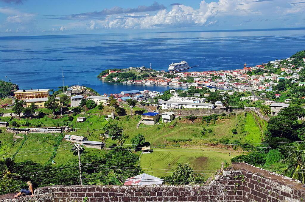 View on WINDWARD ISLANDS