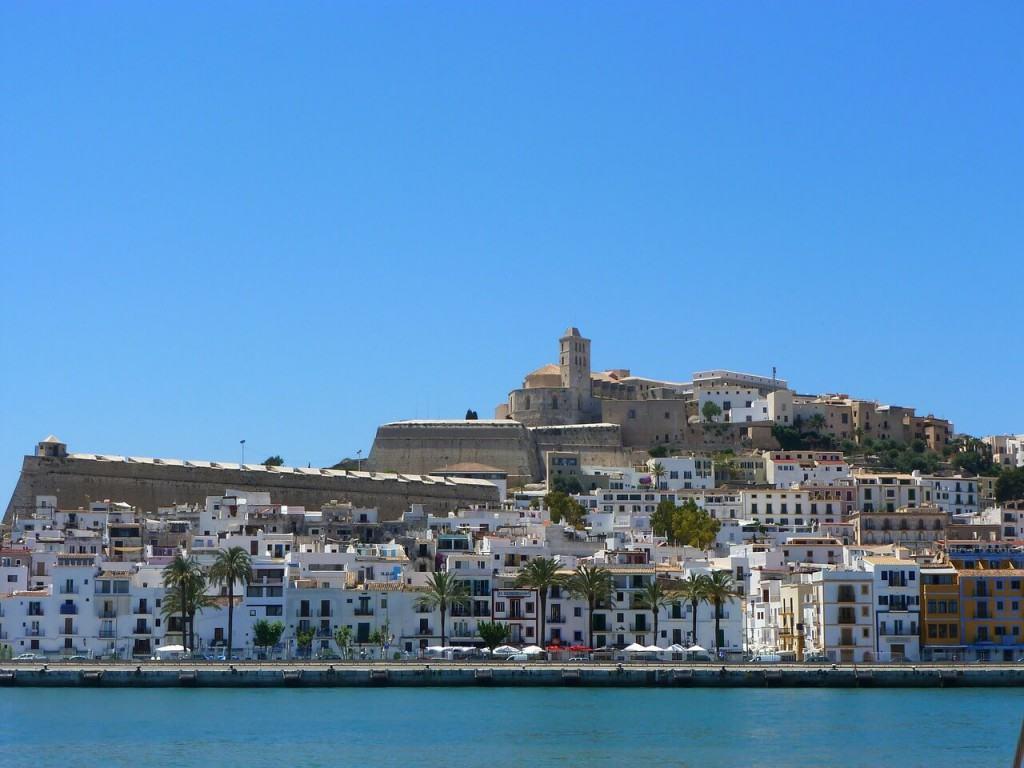View on Ibiza island