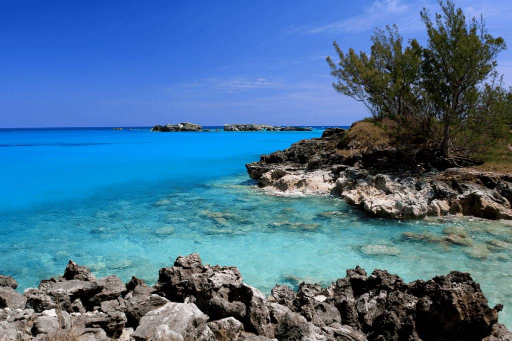 Beach in Cooper Island