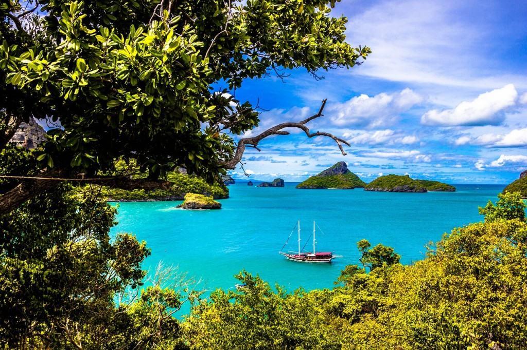 View on Phuket beach