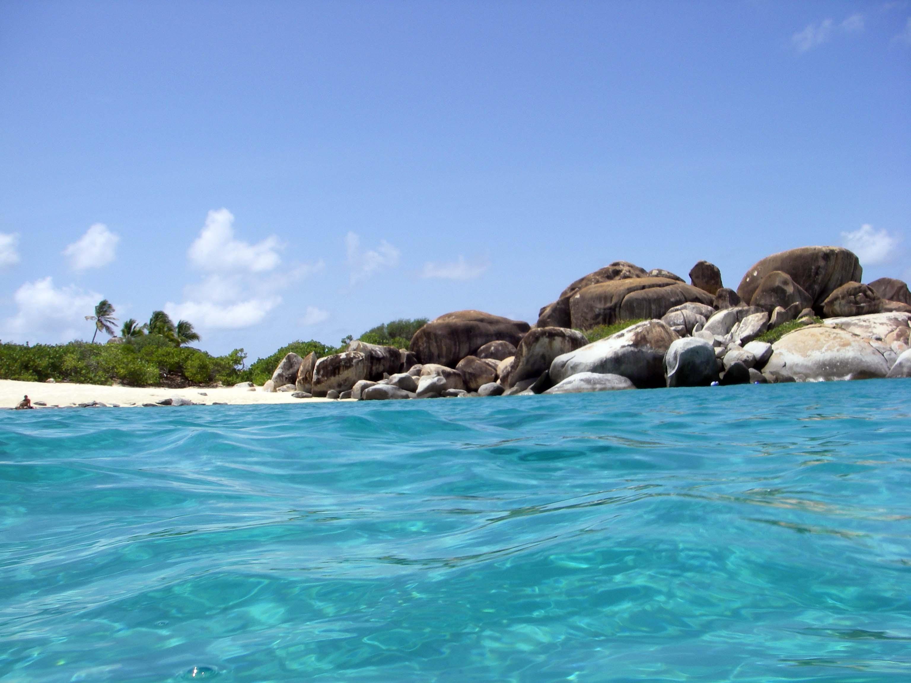 The Baths, Virgin Gorda Island, British Virgin Islands, West Indies  № 1471461 загрузить
