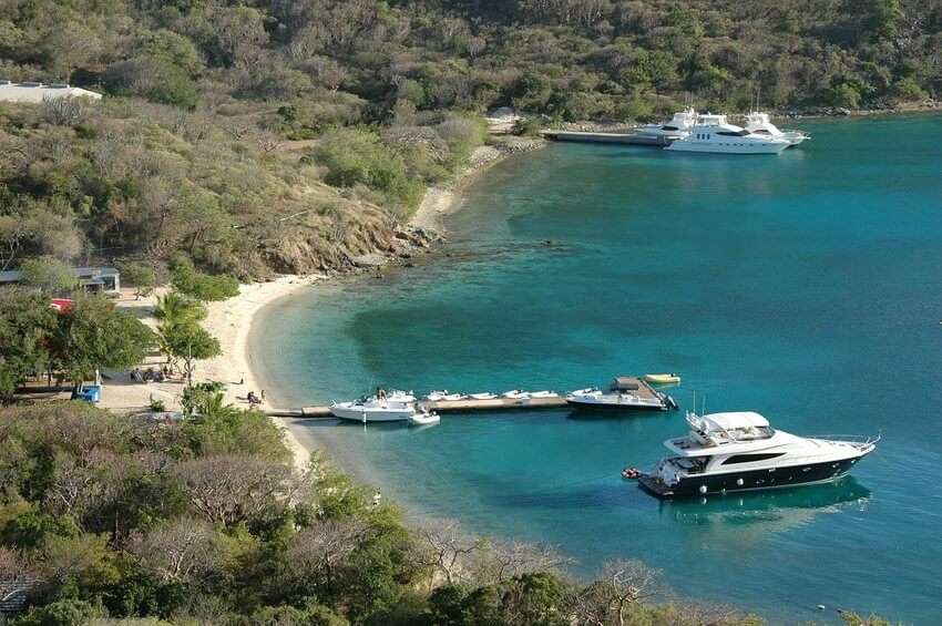 Motor yacht charter in the bvi