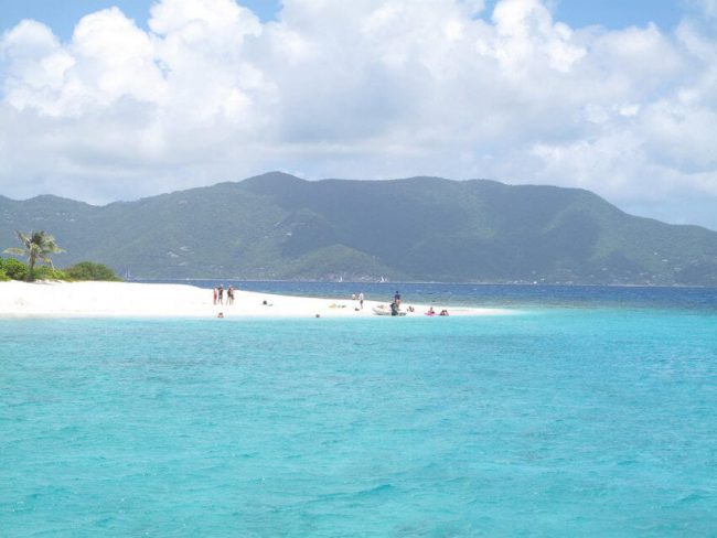 Sandy Spit island