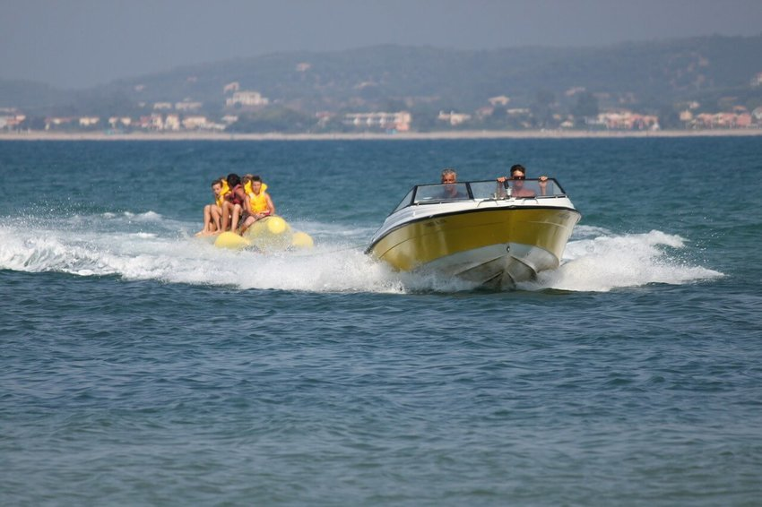 Speed Boat on the water