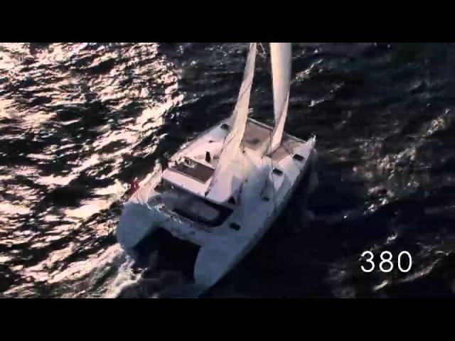 Lagoon 380 sailing yacht