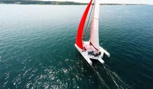 Trimaran sailing yacht neel