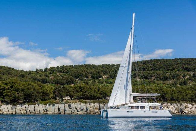 Lagoon 560 Catamaran yacht