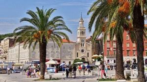 Split town in Croatia