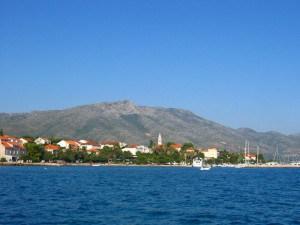 View on Lastovo island