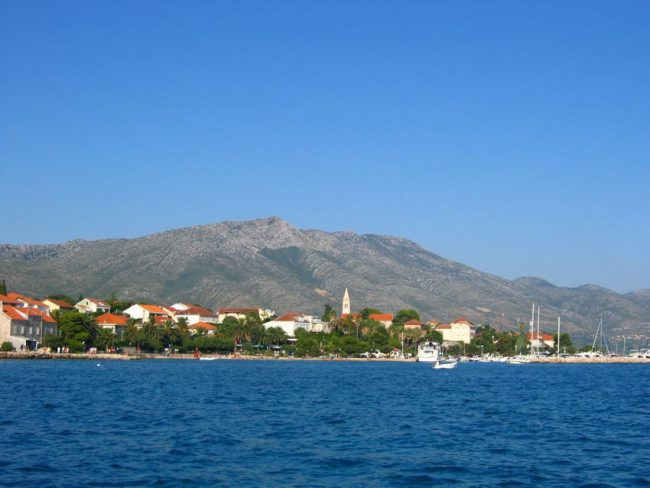 View on Lastovo island