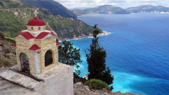 View on Greece sea