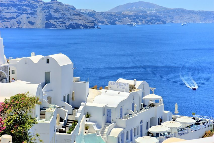 View on Greece