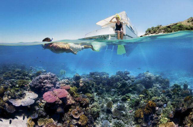 Marina Cay island
