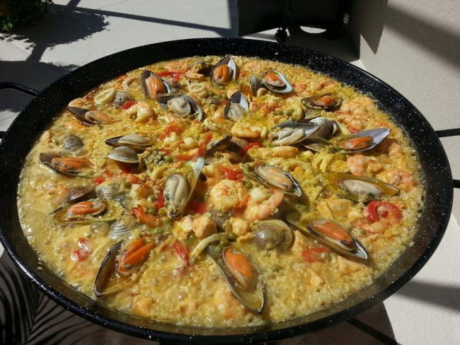 Paella Plate