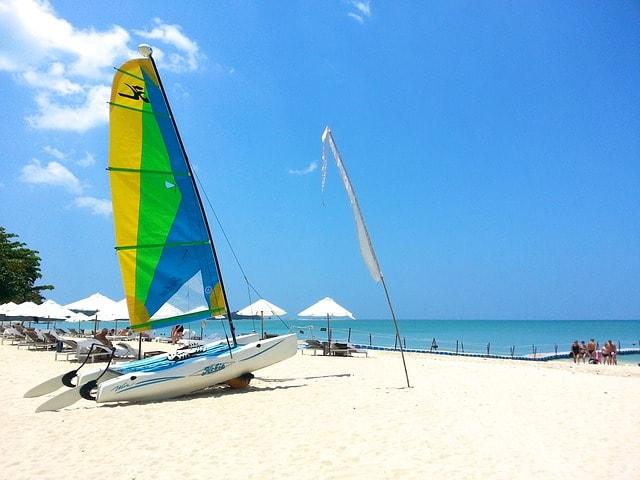Beach in Phuket island