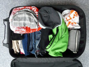 Clothes in the Luggage