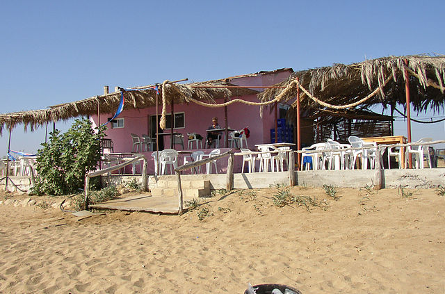 Restaurant on the beach