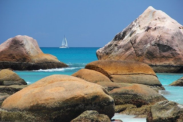 Beach in the Bahamas Caribbean