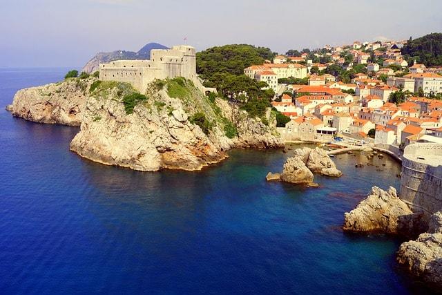 View on Croatia coast