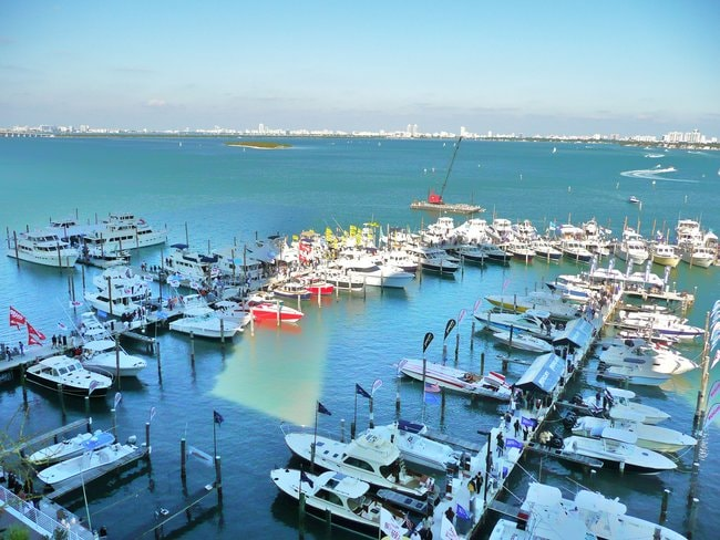 View on Miami Outboard Club