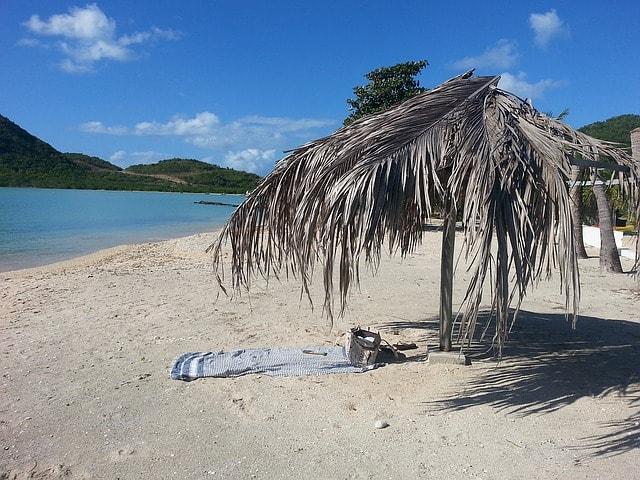Beach in Antigua