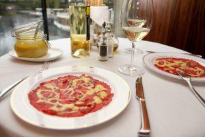 Croatia food on a table