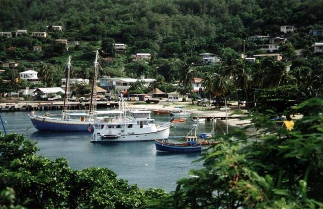 Port in Bequia