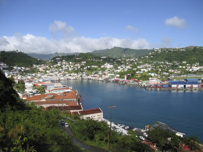View on Saint Georges Grenada