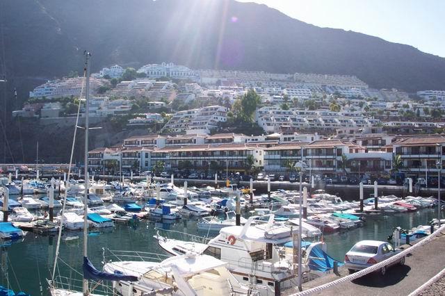 Los Gigantes Marina in Spain