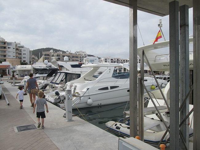 Marina Ibiza in Spain
