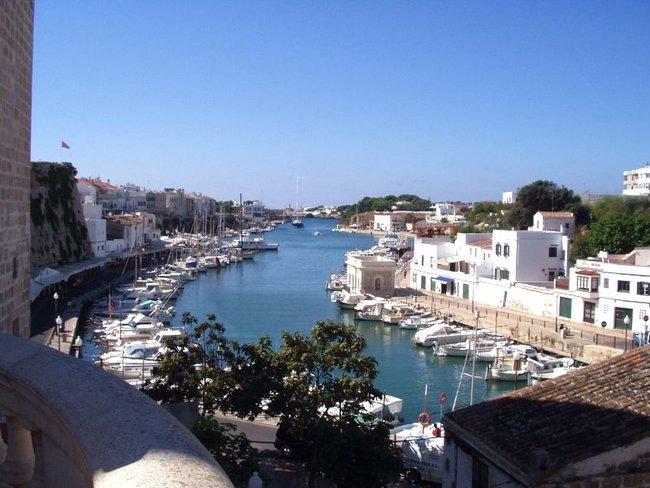 Marina Menorca in Spain