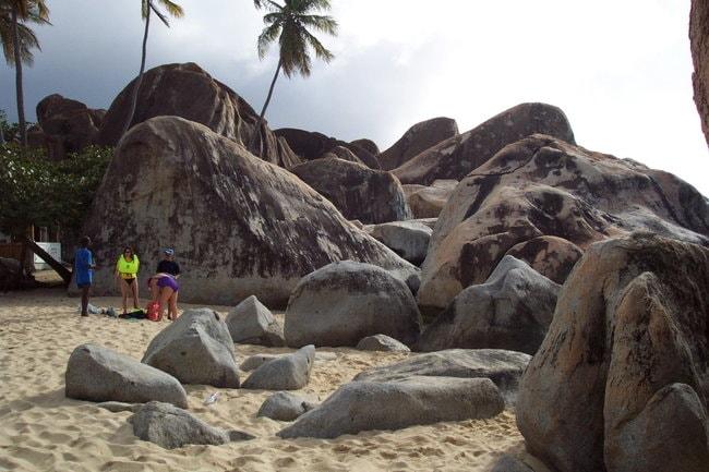 Boulders in Virgin Gorda
