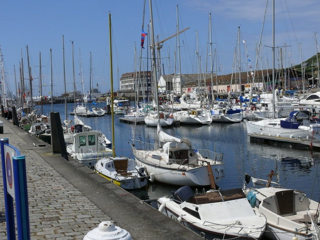 Boats in Port de Fecamp
